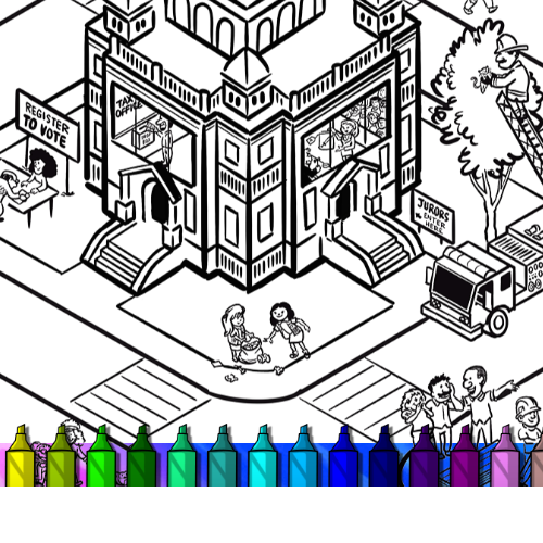 civics_works_resources_coloring